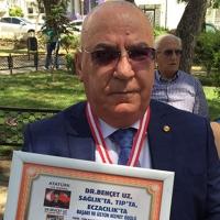 Dr.Behçet Uz, Sağlık'ta Tıp'ta ve Eczacılık'ta Başarı ve Üstün Hizmet Ödülü